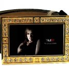 JESSICA HAMBY PHOTO TRUE BLOOD BLING CZ GOLD BELT BUCKLE
