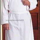 "Catholic Alb Self-Fitting 30"" Zipper Closure Velcro Neck Light Weight S,M,L,X-LG"