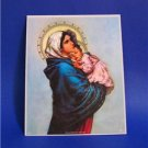 Catholic Picture Print Madonna of Street Mary by Feruzzi Cromo of  Italy 8x10