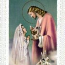First Holy Communion Holy Card Girl Lot 16 Cards @ $5.99