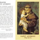 Saint Anthony Holy Card Lot with Prayer 10 Cards @ $2.50