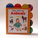 My First Animals Board Book 2003 The Clever Factory Vintage Good Condition