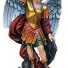 "Church Size Statue Saint Michael Archangel 49.25"" High Resin"