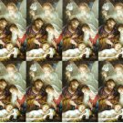 Christmas Holy Cards Cromo Deluxe Italy 16 Card Lot