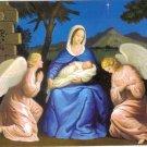 50 Catholic Christmas Cards Pack Lot Nativity Mary Jesus Angels  Pro-Life