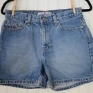 Women's Tommy Hilfiger Vintage Mid Rise Blue Jean Denim Shorts 5 Pocket Size 6