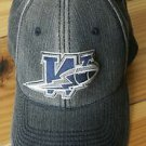 American Needle Med  Large Fitted Distressed Baseball Hat CFL Blue Bombers