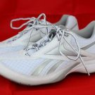 Reebok TrainTone White Womens Conditioning Trainers Athletic Smooth Fit Shoes 10
