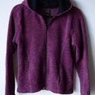 Alps Zip Front Hoodie Medium Long Sleeve Hooded Fleece Jacket