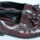 Florsheim Men's Loafer Wingtip Slip On Dress Shoe Leather Dark Maroon 8