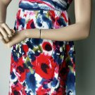 Funky People Pullover Lined Floral Dress Sundress Spaghetti Strap Junior M