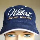Otto Wilbert Precast Concrete Velcro Navy Blue Adjustable Baseball Cap Hat