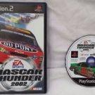 Nascar Thunder 2002 PS2 Sony PlayStation 2 Game Disc, Manual & Case