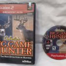 Greatest Hits Cabela's Big Game Hunter PS2 Sony PlayStation 2 Game Disc & Case