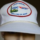 Continental Drilling Co CDC West White w/ Red Mesh Snap Back Trucker Hat