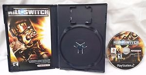 Kill Switch PS2 Sony PlayStation 2 Game Disc, Manual & Case