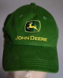 Cary Francis Group John Deere Green Mens Adjustable Trucker Baseball Hat Cap