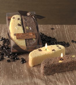 2-pc Biscotti Specialty Candle Gift Set by Lava Enterprises Candles