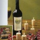 6-pc Wine Cork Candle Gift Set by Lava Enterprises Candles