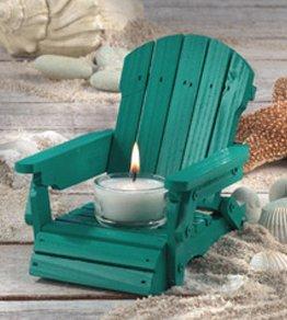 Adirondack Chair Tea Light Candle Holder