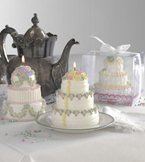 Tiered Cake Specialty Candle by Lava Enterprises