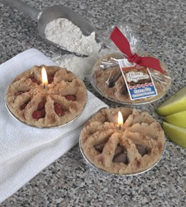 BETTY CROCKER ® Cherry Pie in Foil Tin Specialty Candle by Lava Enterprises Candles