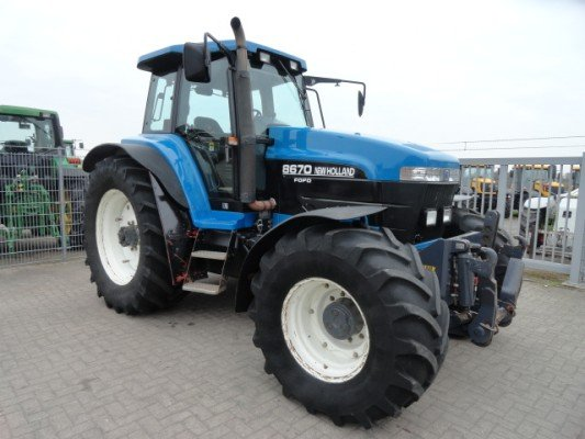 New Holland 8670 8770 8870 8970 Tractor Workshop Manual