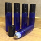 10ml cobalt blue roller bottles (10 pack)