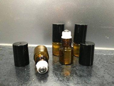 2ml Amber roller bottles