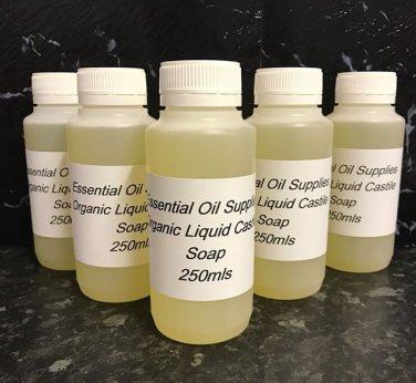 250mls Organic Liquid Castile Soap