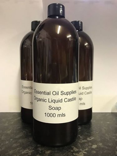 1 Litre Organic Liquid Castile Soap