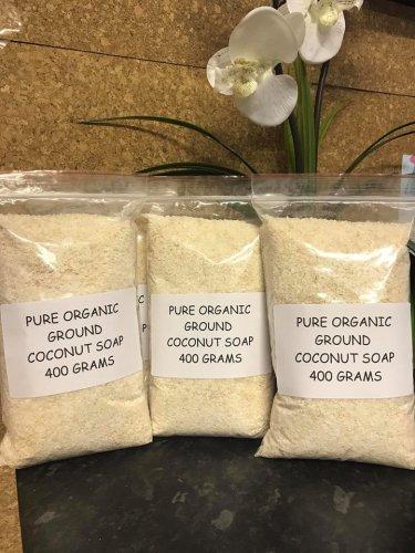 Pure Organic Ground Coconut Soap
