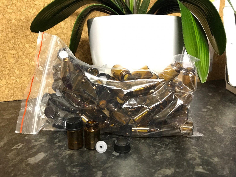 2ml Amber Sample Vials Bag of 50