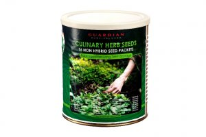 The Preparedness Seeds Culinary Herbs Can; by Guardian