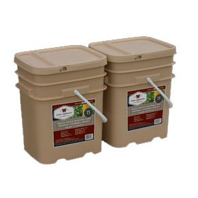 240 Serv. Freeze Dried Vegetable & Sauces