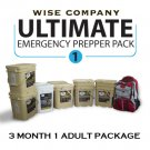 3 Month Ultimate Prepper Pack for 1 Adult