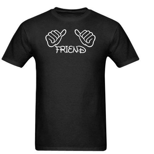 COMEDY THUMBS UP FRIEND INBETWEENERS Gildan Men's Standard T-shirt