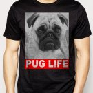 Best Buy Dog Pug Life Slogan Men Adult T-Shirt Sz S-2XL