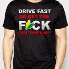 Best Buy DRIVE FAST Funny JDM Soshinoya Men Adult T-Shirt Sz S-2XL