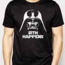 Best Buy FUNNY STAR WARS SHIRT SITH HAPPENS VADER Men Adult T-Shirt Sz S-2XL