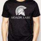 Best Buy Molon Labe Come and Take Them Sparta Men Adult T-Shirt Sz S-2XL