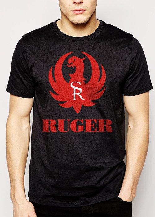 Best Buy Ruger Firearms Men Adult T-Shirt Sz S-2XL