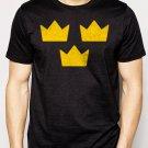 Best Buy TRE KRONOR Sweden Sverige hockey Men Adult T-Shirt Sz S-2XL