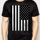 Best Buy American Flag Black and White Men Adult T-Shirt Sz S-2XL