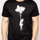 Best Buy Banksy Balloon Girl Cool Hipster Men Adult T-Shirt Sz S-2XL