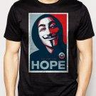 Best Buy v for vendetta face hope Men Adult T-Shirt Sz S-2XL