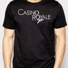 Best Buy Casino Royal logo black 007 James Bond Men Adult T-Shirt Sz S-2XL