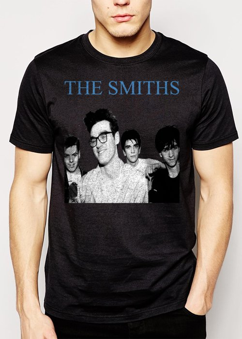 Best Buy The Smiths Morrissey Meat Is Murder Rise Retro Vintage Men Adult T-Shirt Sz S-2XL
