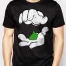 Best Buy Cartoon Hands Pinch Pot Weed Swag Men Adult T-Shirt Sz S-2XL