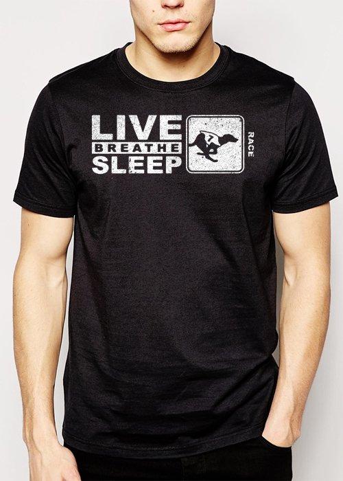 Best Buy Dog Racing Gift Men Adult T-Shirt Sz S-2XL